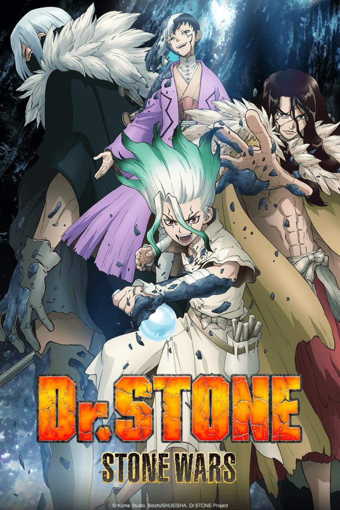 key visual della seconda stagione di Dr Stone